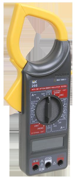 Токоизмерительные клещи  Expert 266 IEK