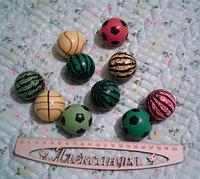 Мячик детский каучуковый 5 см в ассортименте