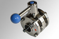 Дисковый клапан, ДИН 11850, ZFA (межфланцевый), AISI 304 - DN40