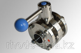 Дисковый клапан, ДИН 11850, ZFA (межфланцевый), AISI 304 - DN15