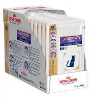 Royal Canin Sensitivity Control Chicken & Rice S O Feline Роял Канин консервы для кошек аллергией уп.12*100гр