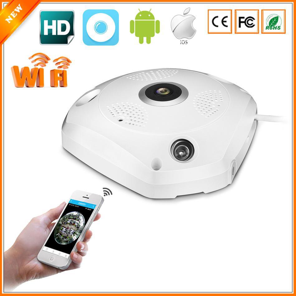 """Панорамная IP Wi-Fi P2P камера """"рыбий глаз"""""""