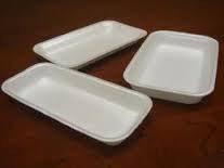 Лотки - подложки для упаковки продуктов .