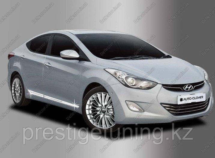 Хром накладка на молдинг двери Hyundai Elantra 2012-13