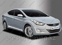 Хром накладка на двери Hyundai Elantra 2012-16