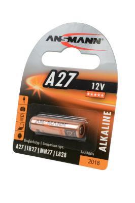 Батарейкa ANSMANN 27A, 12 В