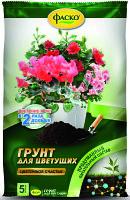 Грунт для Цветущих растений 5л Фаско