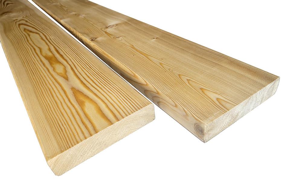 Террасная доска лиственница (планкен) 28х140х3-5м сорт В