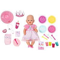Бэби Борн Кукла Интерактивная Праздничная