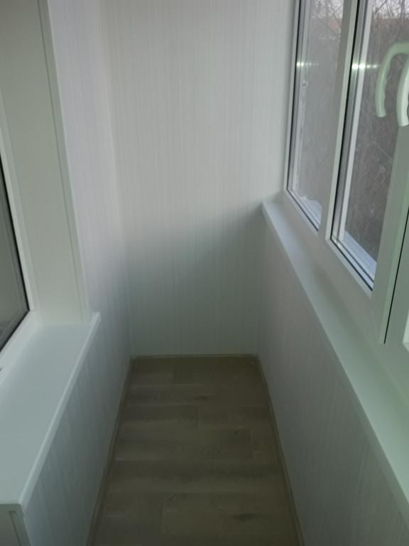Обшивка и утепление балкона по адресу Шакарим Кудайбердыулы 38