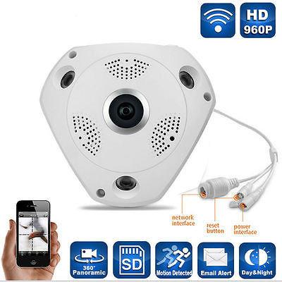 """Новинка! Панорамная IP Wi-Fi P2P камера """"рыбий глаз""""!"""