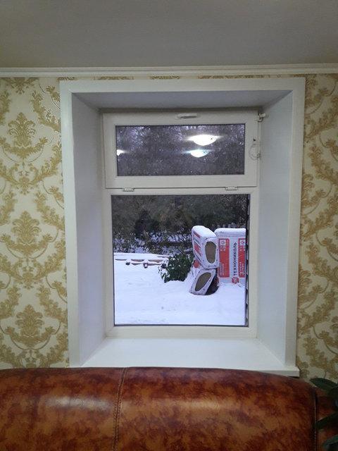 Установка сложного открывания окна с ограничителем от детей