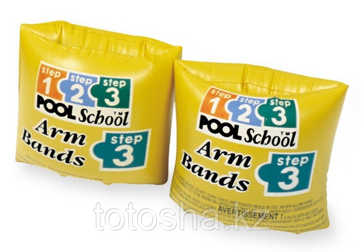56643 Intex Нарукавники Pool School 3-6 лет