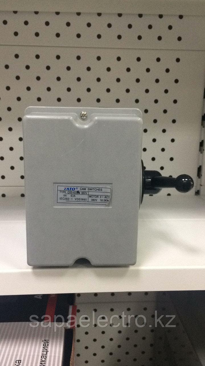 Рубильник QS5-63A 1/2 перекидной FATO