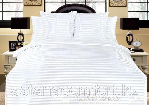 Комплект постельного белья Шелк-жаккард, евро размер. Россия