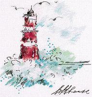 """Набор для вышивания крестом """"Путеводный маяк"""""""