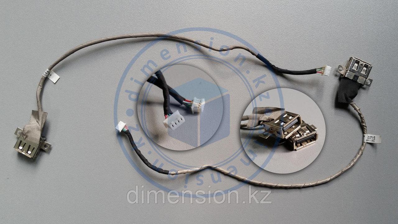 USB порт, разъем со шлейфом DC301009H00 на  LENOVO G560  G565 G570  Z560 Z565 G770