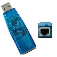 Конвертер USB2.0-LAN(RJ45) OEM