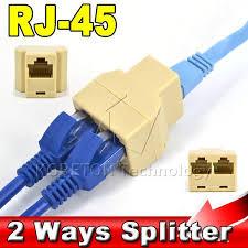 Разветвитель витой пары (гнездо-2 гнезда) RJ-45 (8Р8С)
