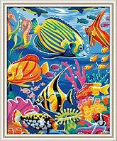 "Картины по номерам 30х40 см ""Рыбки"""