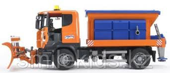 Снегоуборочная машина Scania
