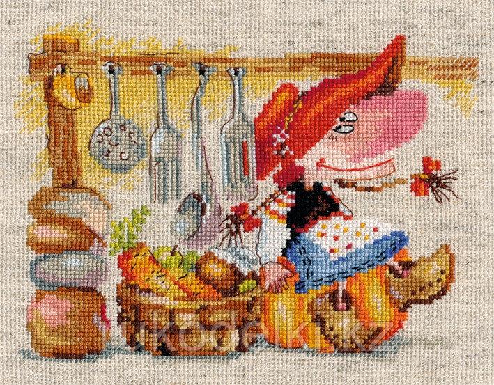 """Набор для вышивания крестом """"Овощная Кладовушка"""""""