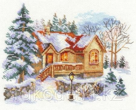 """Набор для вышивания крестом """"Февральский домик"""""""