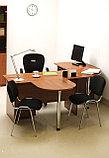 Стол письменный прямоугольный, 1400*700*750, Стиль/Орех, фото 2