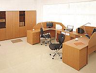 Стол письменный угловой левосторонний, 1400*900/700*750, Стиль/Бук, фото 1