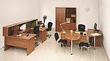 Стол письменный угловой правосторонний, 1400*900/700*750, Стиль/Бук, фото 3