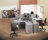 Стол письменный угловой правосторонний, 1400*900/700*750, Стиль/Бук, фото 5