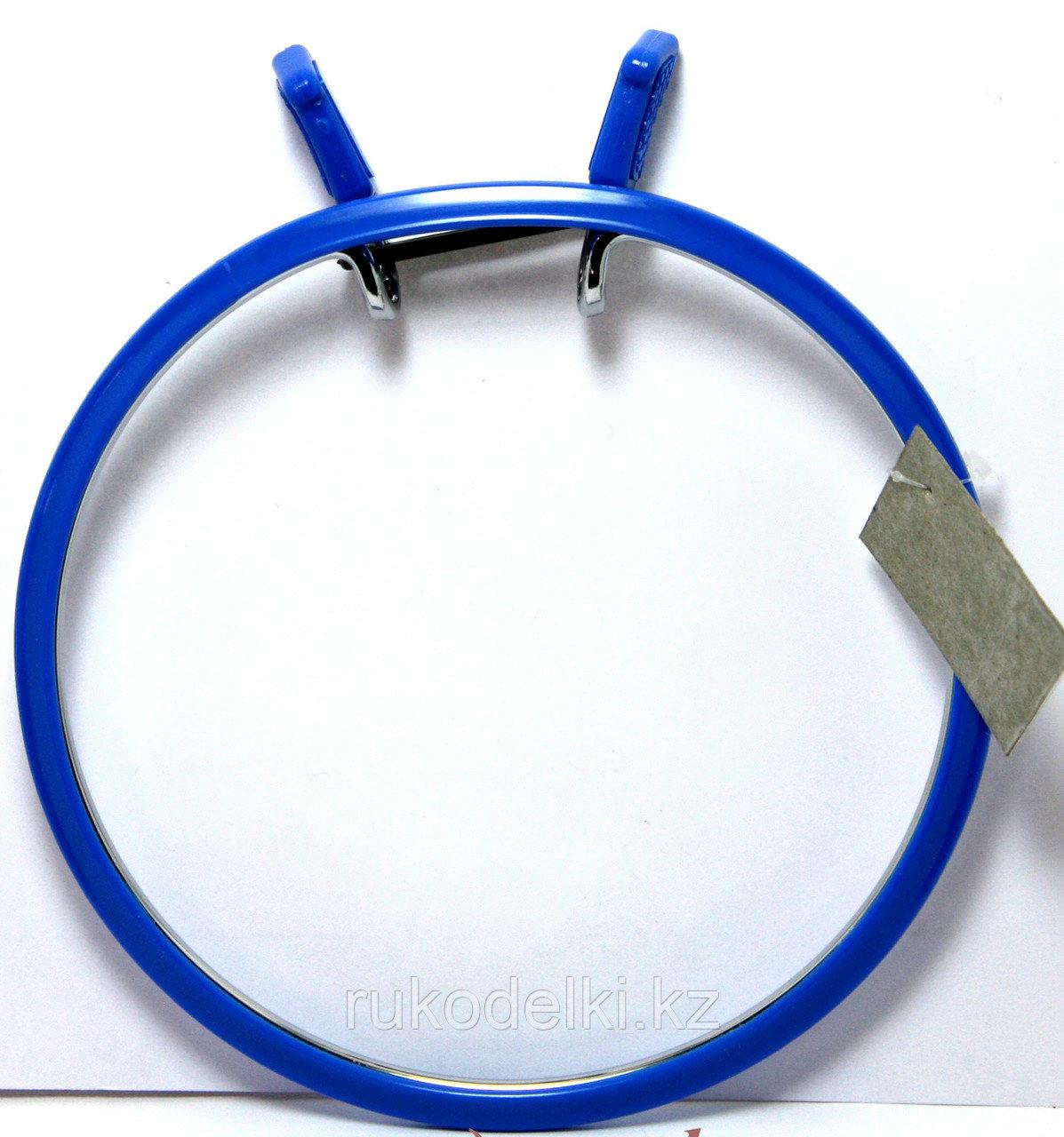 Пяльцы Nurge вышивальные металлические 20 см Синие