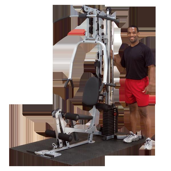Многофукциональный тренажёр с весовым стеком 72,5 кг POWERLINE (BSG10X)
