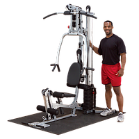Многофукциональный тренажёр с весовым стеком 72,5 кг POWERLINE (BSG10X), фото 1