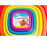 Набор контейнеров для пищевых продуктов Quality Home (14 предметов), фото 2