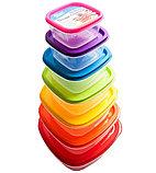 Набор контейнеров для пищевых продуктов Quality Home (14 предметов), фото 3