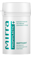 MIRRA МИРРАВИТ витаминно-антиоксидантный комплекс