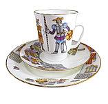 Кофейный комплект Балет Дон Кихот. ИФЗ. Костяной фарфор, авторская работа, фото 2