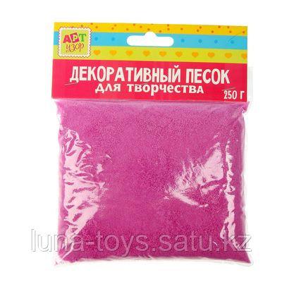 """Песок декоративный """"Малиново-розовый"""" 250 гр 1265312"""