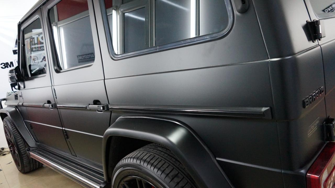 Оклейка автомобилей виниловой пленкой