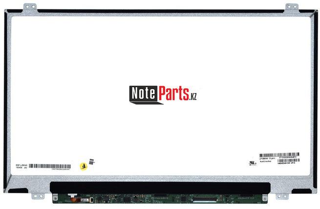 Дисплей для ноутбука LP140WH8 (TL)(A1) разрешение 1366*768 LED Слим 40пин крепление сверху-снизу, фото 2