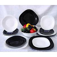 Столовый сервиз Luminarc Carine White&black 19 предметов на 6 персон, фото 1