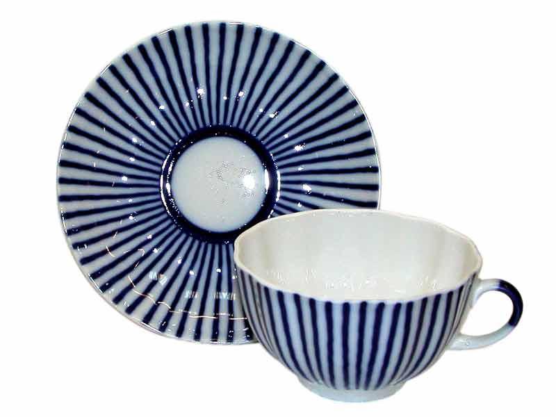 Чайная пара Французик. Императорский фарфор
