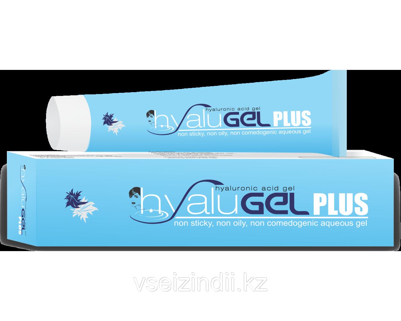 Hyalugel  PLUS гель для лица с гиалуроновой кислотой, 30 мл.