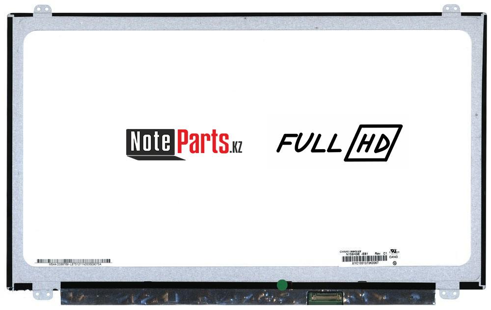 Дисплей для ноутбука HB156FH1-301 разрешение 1920*1080 Full HD LED Слим 30 пин крепление сверху-снизу