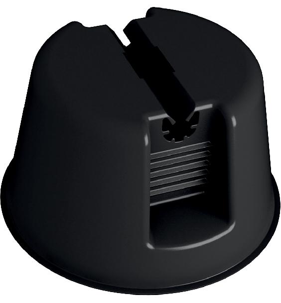 Держатель провода-молниеотвода для фиксации проводов приема прямого разряда и отвода тока молнии к заземлению