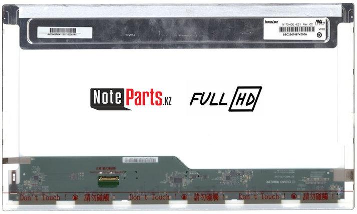 Дисплей для ноутбука N173HGE-E21 разрешение 1920*1080 Full HD LED 30 пин, фото 2