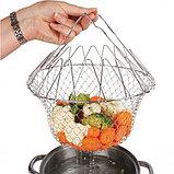Складная решетка для приготовления пищи Шеф Баскет Chef Basket, фото 2