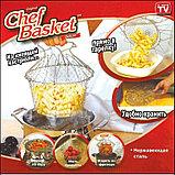 Складная решетка для приготовления пищи Шеф Баскет Chef Basket, фото 3