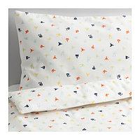 Пододеяльник, наволочка д/кроватки СТЬЕРНБИЛД разноцветный ИКЕА, IKEA, фото 1